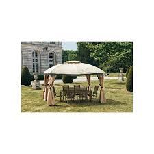 tonnelle de jardin avec moustiquaire tonnelle de jardin andalou 3 x 3 65 m avec rideaux et