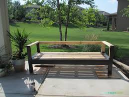 Diy Wooden Garden Bench by Modren Easy Diy Patio Furniture And Fun Outdoor Ideas I To Decorating
