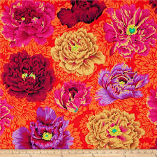 kaffe fassett collective brocade peony wine discount designer zoom kaffe fassett collective brocade peony wine