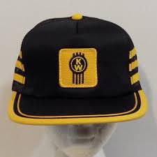 logo kenworth kenworth vintage snapback baseball truckers hat cap patch logo by