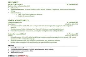 Resume Template For Students With Little Experience Resume Examples For Jobs With Little Experience Resume Sample