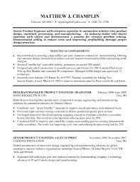 Sample Resume For Industrial Engineer by Sample Industrial Engineer Resume Free Resume Example And