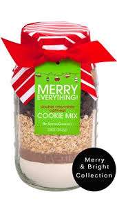 holiday cookie mixes in a jar seasonal baking jars