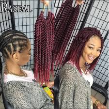 ombre senegalese twists braiding hair razeal senegalese twist hair crochet braids 85grams piece ombre