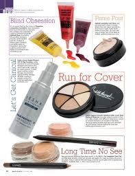 magazines for makeup artists killer cover makeup artist magazine judith august cosmetics