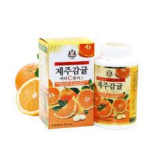 cuisine vitr馥 jeju 天然维生素c咀嚼片500g 柑橘味儿童成年人vc片济州岛特产 行情报价