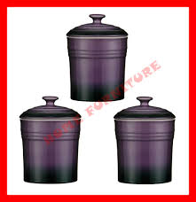 Purple Kitchen Canisters by Stylish Home Design Ideas Kitchen Set Purple
