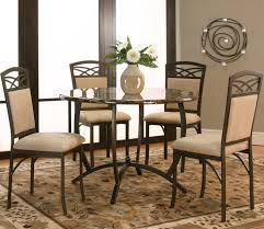 Round Dining Room Tables For 4 by Cramco Inc Atlas Round Dinner Table W Faux Marble Top Wayside
