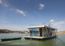 prefabricated floating house can be shipped worldwide