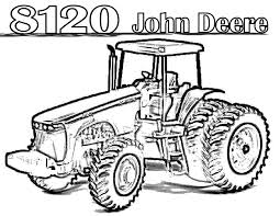 tractor coloring pages to printable in tractor coloring pages