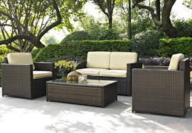 Bar Set For Home by Patio Lovely Brown Wicker Patio Set For Minimalist Patio Decor