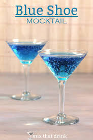 blue cocktails are always a hit but what about non drinkers the