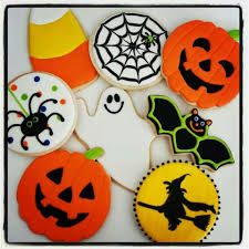 halloween sugar cookies decorated ideas share color flooding