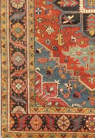 Rust Area Rug Pasargad Heriz Knotted Rust Area Rug Reviews Perigold
