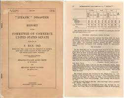 Titanic Second Class Menu by Hindenburg Vs Titanic Survival Rates Airships Net