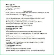 Resume Samples For Flight Attendant Position by Cv For Air Hostess Hostess Resume Templates File Recipe Hostess