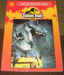 jurassic park the colouring books bk 1 golden books