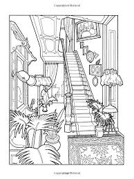 victorian house coloring page coloring pages adults and kids