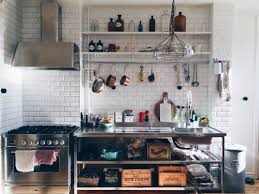 Swedish Kitchen Design Interior Design Sweden Kitchens Elle Decoration Open Shelving