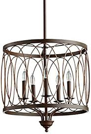 sausalito five light chandelier cyan lighting 05975 sausalito five light pendant vermillion