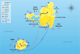 map of st martin ferry to saba fast ferry service from sint maarten to saba