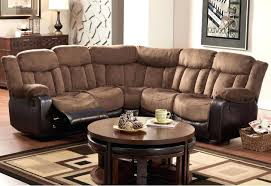 Sofas And Recliners Brilliant Impressive Leather Reclining Sectional Sofa Bed Sofas