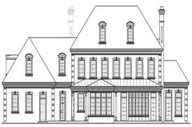 luxury colonial house plans colonial luxury home with 6 bdrms 5269 sq ft house plan 108 1277