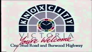 old knox city shopping centre advert 1991 youtube