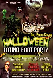 halloween latino boat party tickets sat oct 29 2016 at 9 00 pm