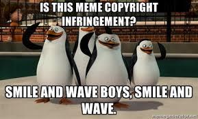Meme Copyright - copyright infringement meme riding with the window down