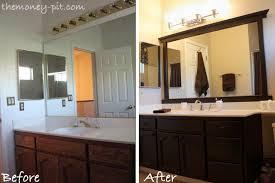 diy bathroom mirror ideas diy bathroom mirror frame ideas interior design ideas