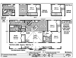modular ranch house plans commodore homes mulberry rg735a grandville le modular ranch