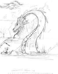 coloring download sea serpent coloring pages sea serpent