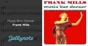 box frank mills box dancer frank mills free piano sheet