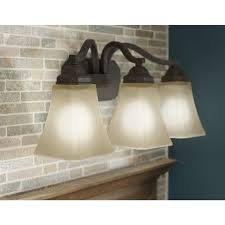bathroom light fixtures lighting lowes canada portfolio 3 oil