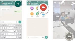 share photos videos and more with whatsapp for android
