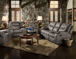 Motion Recliner Sofa by Corinthian Pancho Steel Reclining Sofa And Loveseat U2013 My Furniture