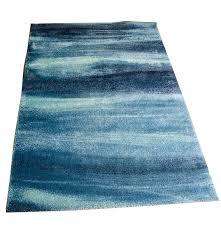 blue sonderod high pile rug from ikea ebth