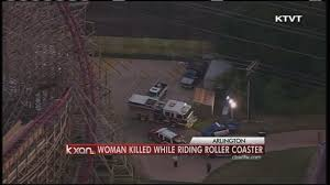 Six Flags Texas Death Woman Dies On Texas Giant At Six Flags Youtube