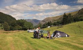 Flat Packed Portable Fire Pit From Boutique Camping Uk - 10 of the best campsites in the lake district and cumbria travel