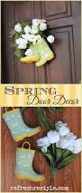 Spring Decorating Ideas For Your Front Door 29 Best Front Yard Images On Pinterest Front Yards Pallet Art