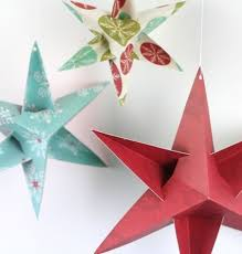 Homemade Christmas Decorations With Paper Easy Homemade Paper Christmas Decorations Designcorner