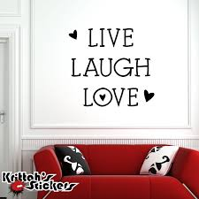 wall decals stickers home decor home furniture diy live laugh love vinyl wall decal home decor family heart removable sticker l041