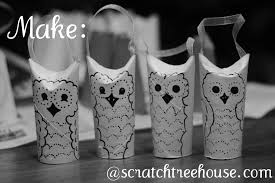 how to make owl ornaments scratch treehouse
