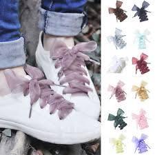ribbon shoe laces silk shoe laces ebay