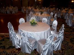 silver chair covers chair covers linen sas party decorations