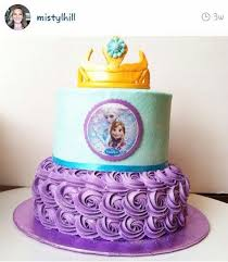 frozen birthday cakes google search birthday party ideas