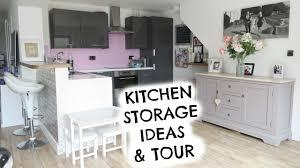 kitchen storage ideas and tour emily norris youtube