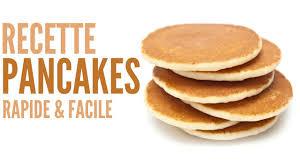recette pancakes hervé cuisine recette pancakes rapide facile