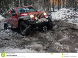 jeep wrangler in the winter jeep wrangler in the winter forest russia editorial stock photo